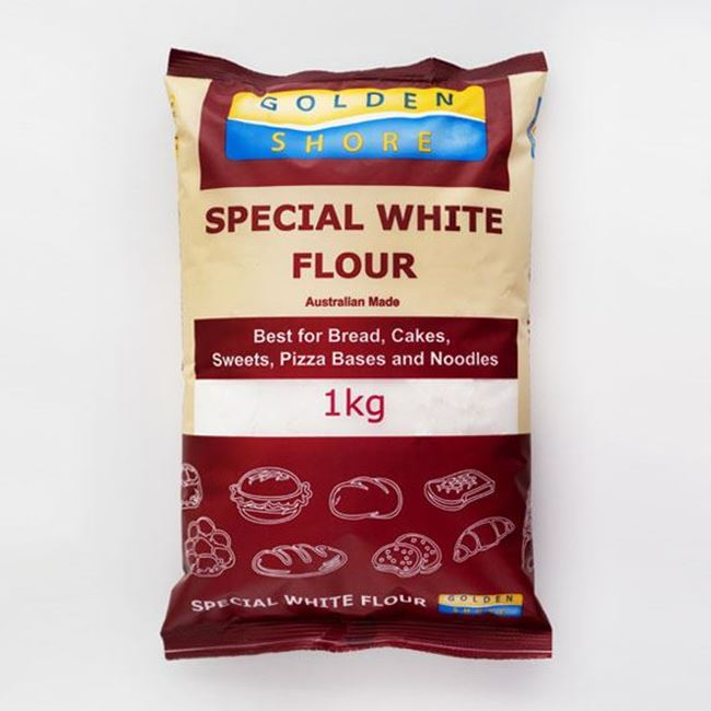 Picture of GOLDEN SHORE FLOUR 1KG SPECIAL WHITE
