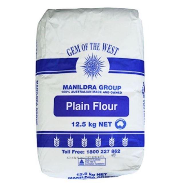 Picture of MANILDRA GROUP PLAIN FLOUR 12.5KG
