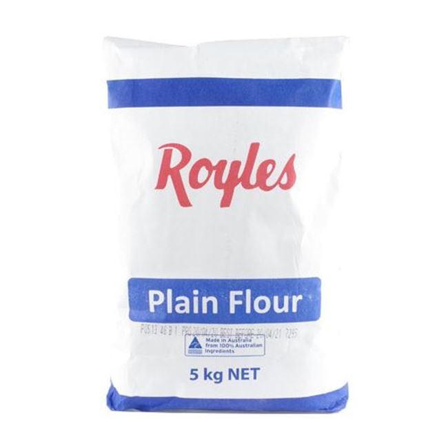 Picture of ROYLES FLOUR 5KG PLAIN