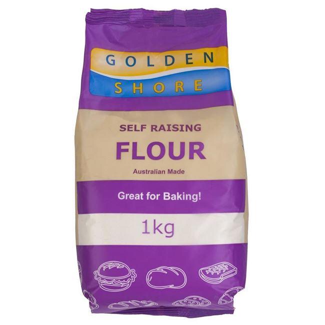 Picture of GOLDEN SHORE FLOUR 1KG SELF RAISING