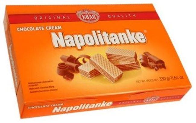 Picture of KRAS NAPOLITANKE WAFER 330G CHOCOLATE CREAM