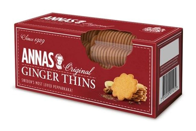 Picture of LOTUS ANNAS BISCUITS 150G GINGER