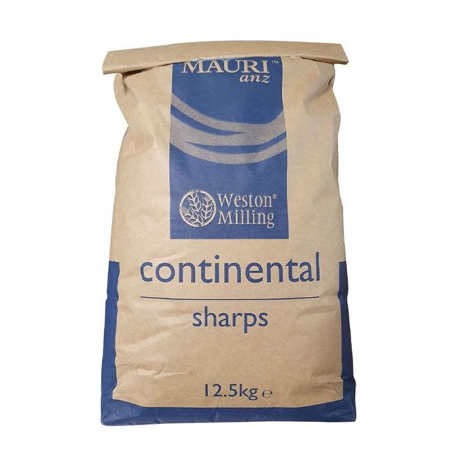 Picture of WESTON MILLING FLOUR SHARPS CONTINENTAL 12.5KG