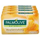 Picture of PALMOLIVE SOAP 4X90G MILK & HONEY