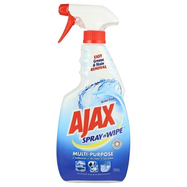 Picture of AJAX SPRAY N WIPE 500ML MULTIPURPOSE OCEAN FRESH
