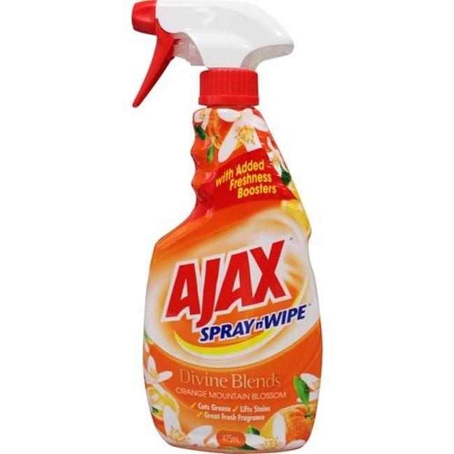 Picture of AJAX SPRAY N WIPE 500ML MULTIPURPOSE ORANGE MOUNTAIN BLOSSOM
