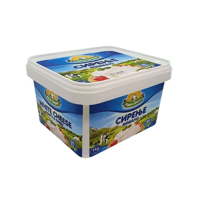 Picture of SIPKA COW AND SHEEP WHITE CHEESE 1KG