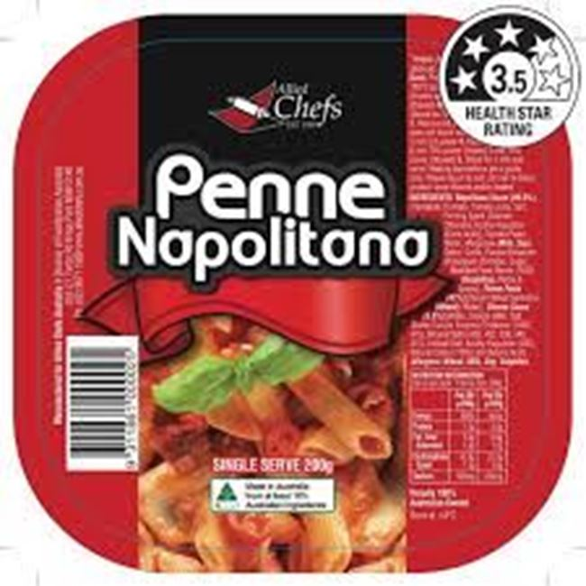 Picture of ALLIED CHEFS PENNE NAPOLITANA 200G