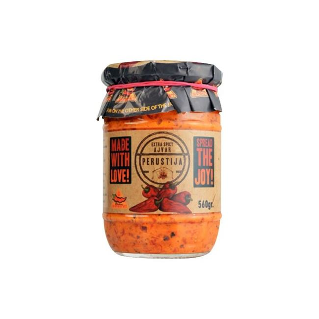 Picture of AJVAR PERUSTIJA 560G EXTRA SPICY